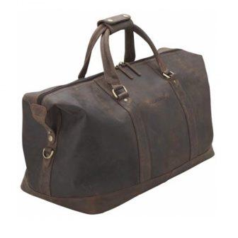 Bolsa para viagem marrom