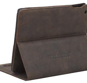 Capa para iPad marrom