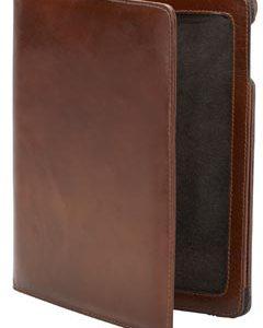 Capa para iPad marrom conhaque