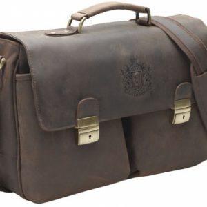 Bolsa School Bag marrom