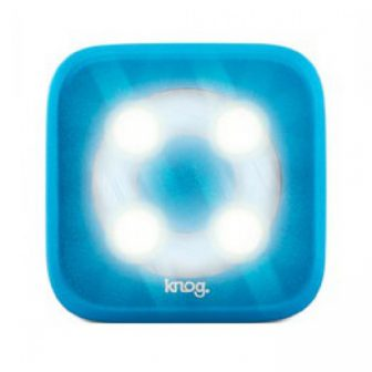 Knog Blinder Círculo dianteira 4 LEDs azul