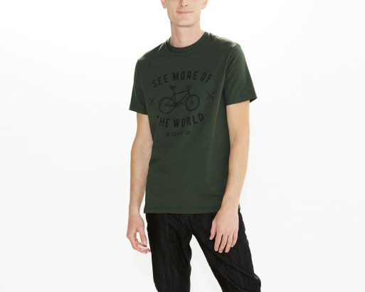 Camiseta Levi's® Commuter™ Drop Hem Tee